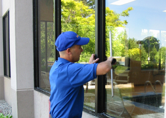 Ann Arbor Storefront and High Frequency Window Washing
